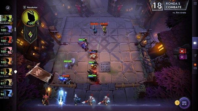 Gameplay de DOTA Underworlds