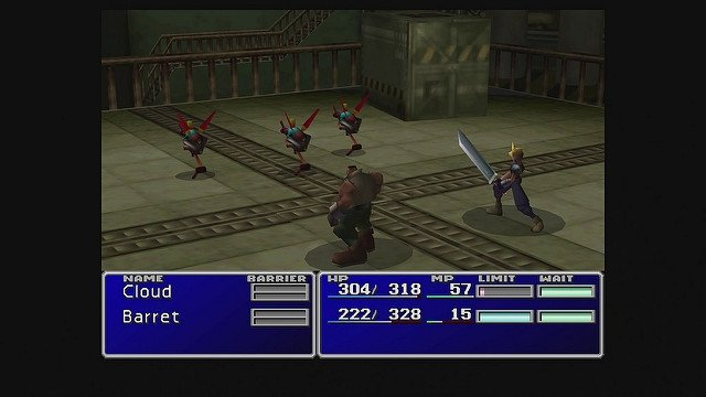 Gameplay de Final Fantasy VII