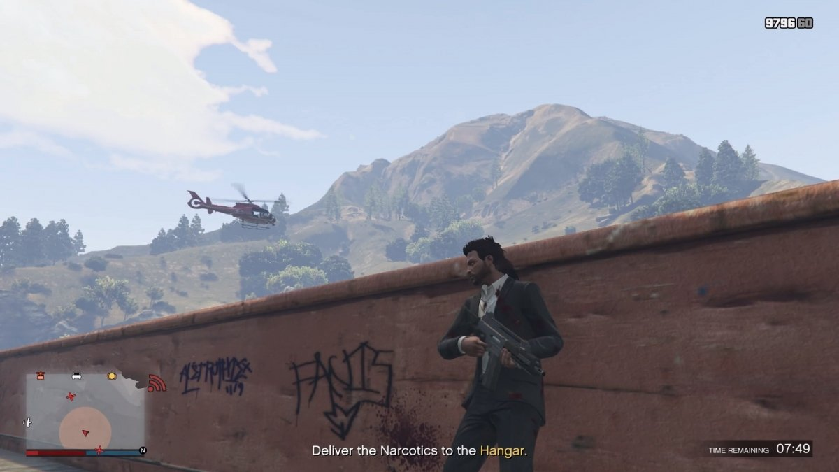 Gameplay de GTA V Smuggler's Run