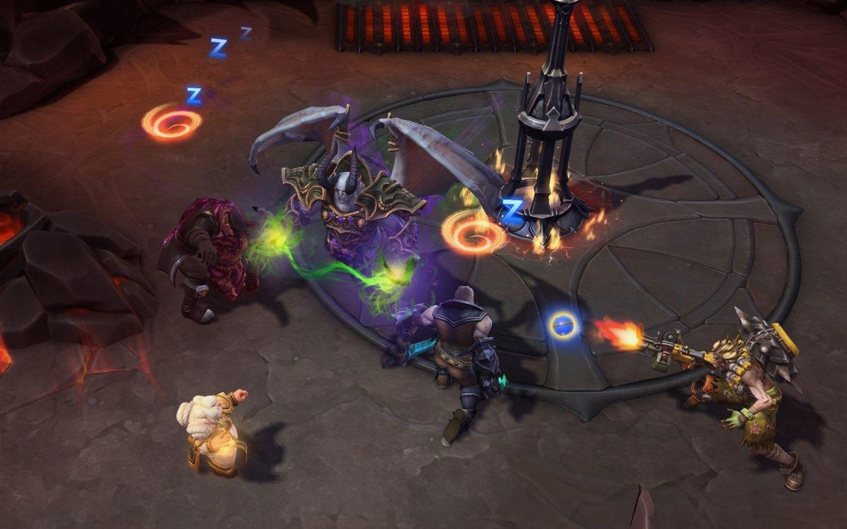 Gameplay de Heroes of the Storm