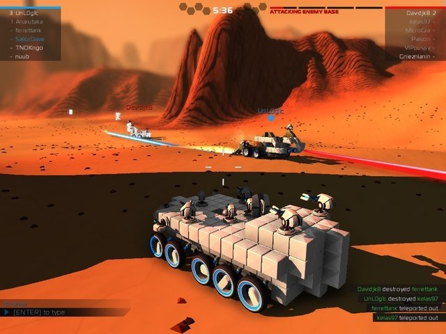 Gameplay de Robocraft