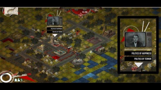 Gameplay de Soviet City - control del terror