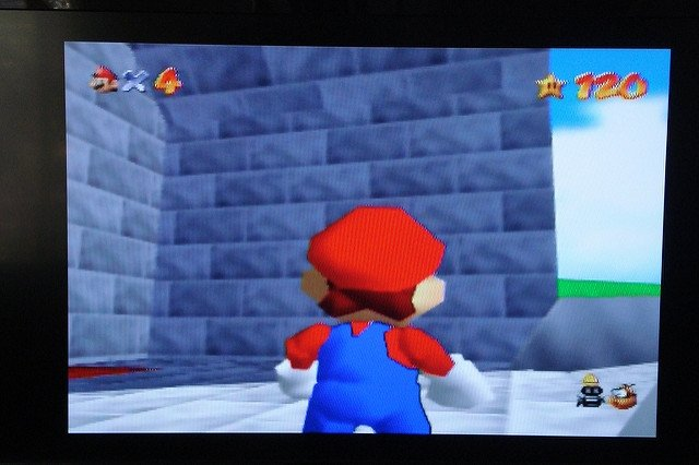 Gameplay de Super Mario 64