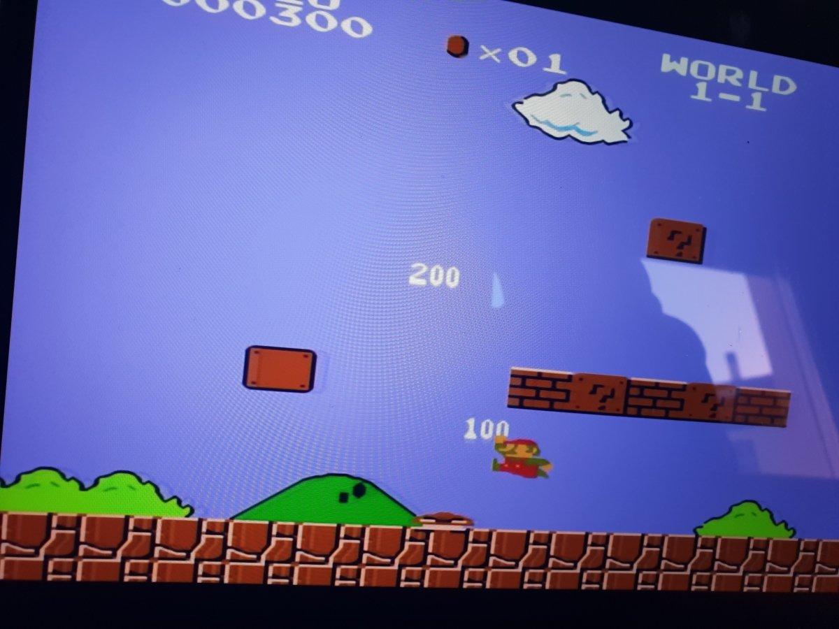 Gameplay de Super Mario Bros, que inspiró a los endless runners