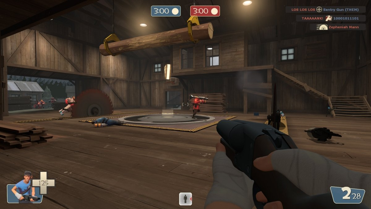 Gameplay de Team Fortress
