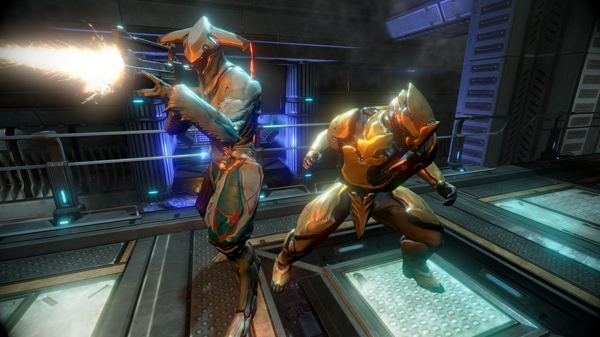 Gameplay de Warframe