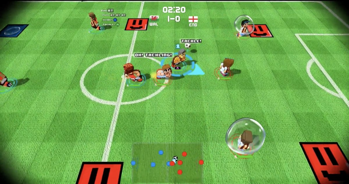 Gameplay de Worldy Cup