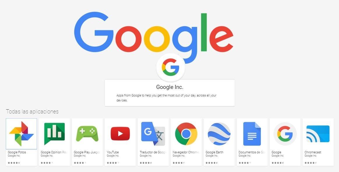 GApps, abreviatura de Google Apps