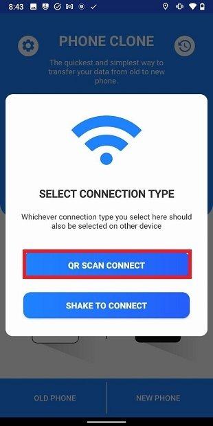 Generar código QR para la transferencia