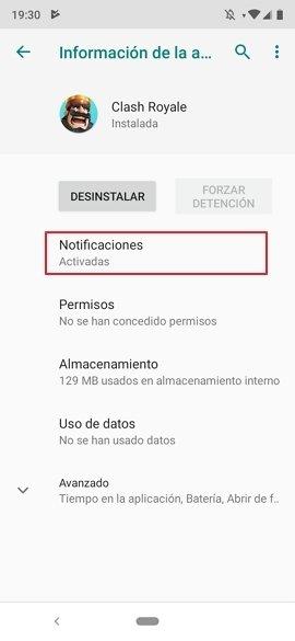 Gestión de una app
