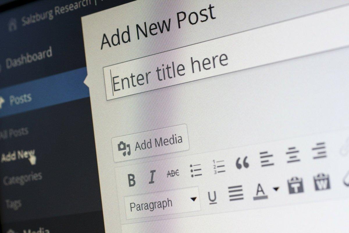 Gestiona tu blog o sitio web desde tu casa