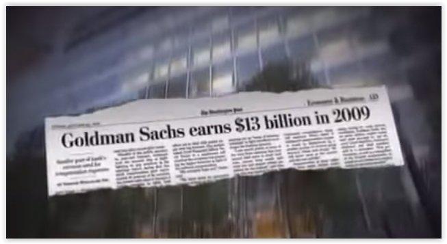 Goldman Sachs obtuvo beneficios de 13 mil millones de dólares en 2009