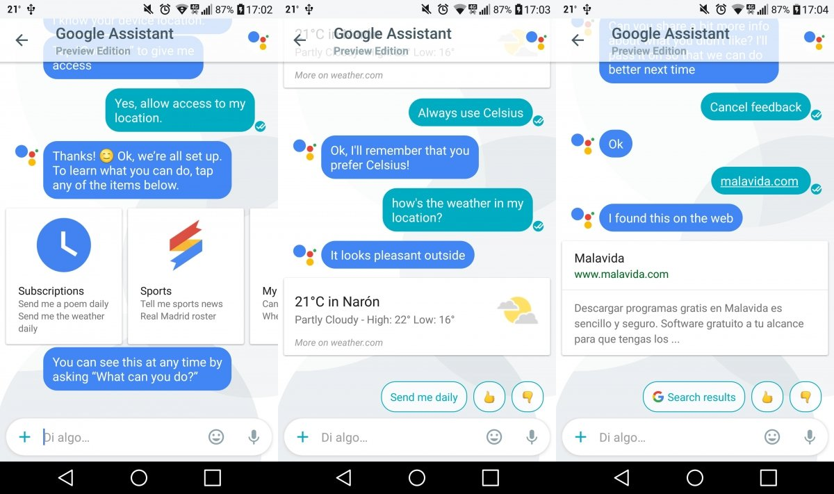 Google Assistant en Google Allo