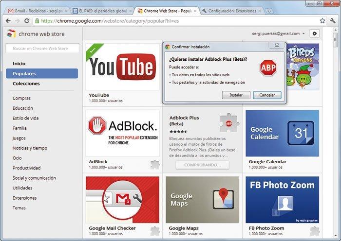 Google Chrome 16-2