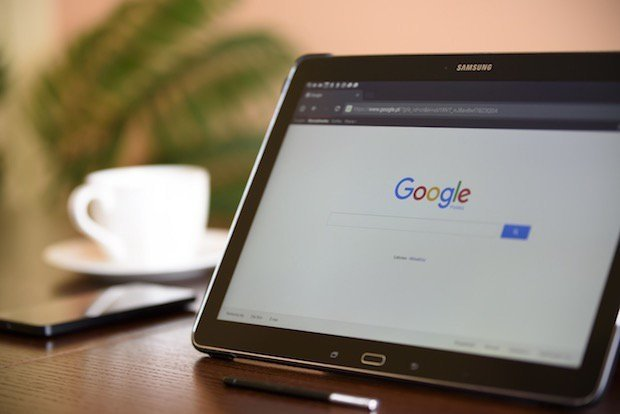 Google Chrome en tablet Android