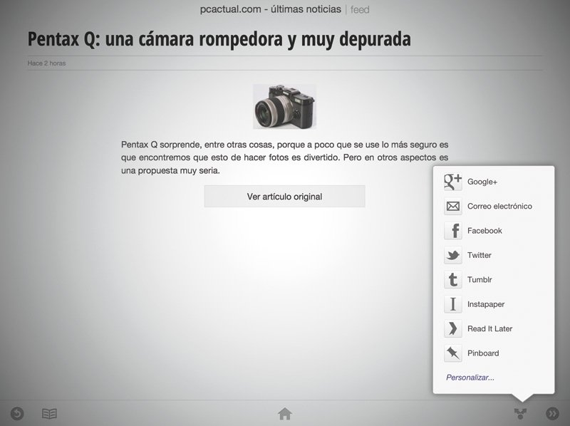 Google Currents RSS 6