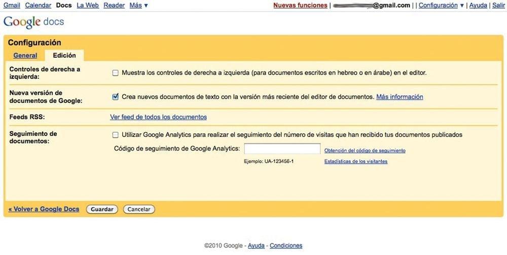 Google Docs Truco 1