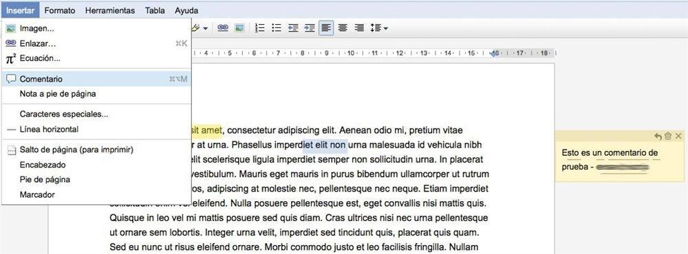 Google Docs Truco 2