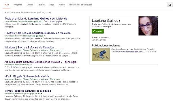 Google elimina la información de los autores en las búsquedas - imagen 2