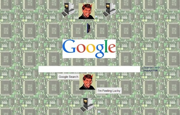Google, un buscador muy noventero