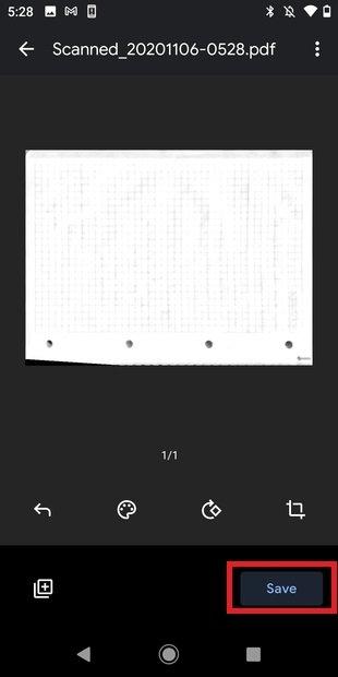 Guardar PDF en Drive