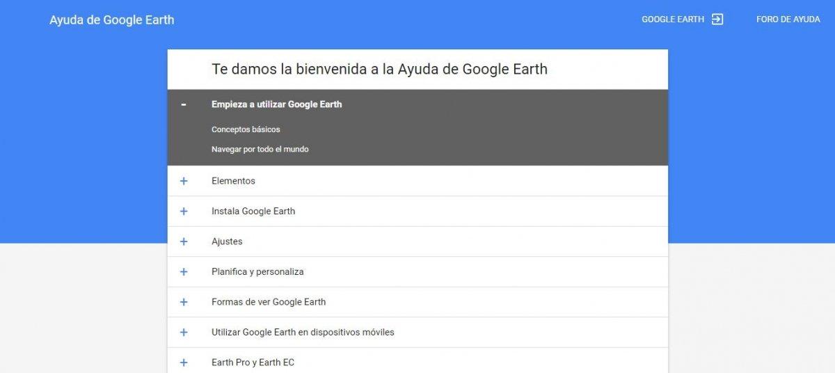 Guía de usuario de Google Earth