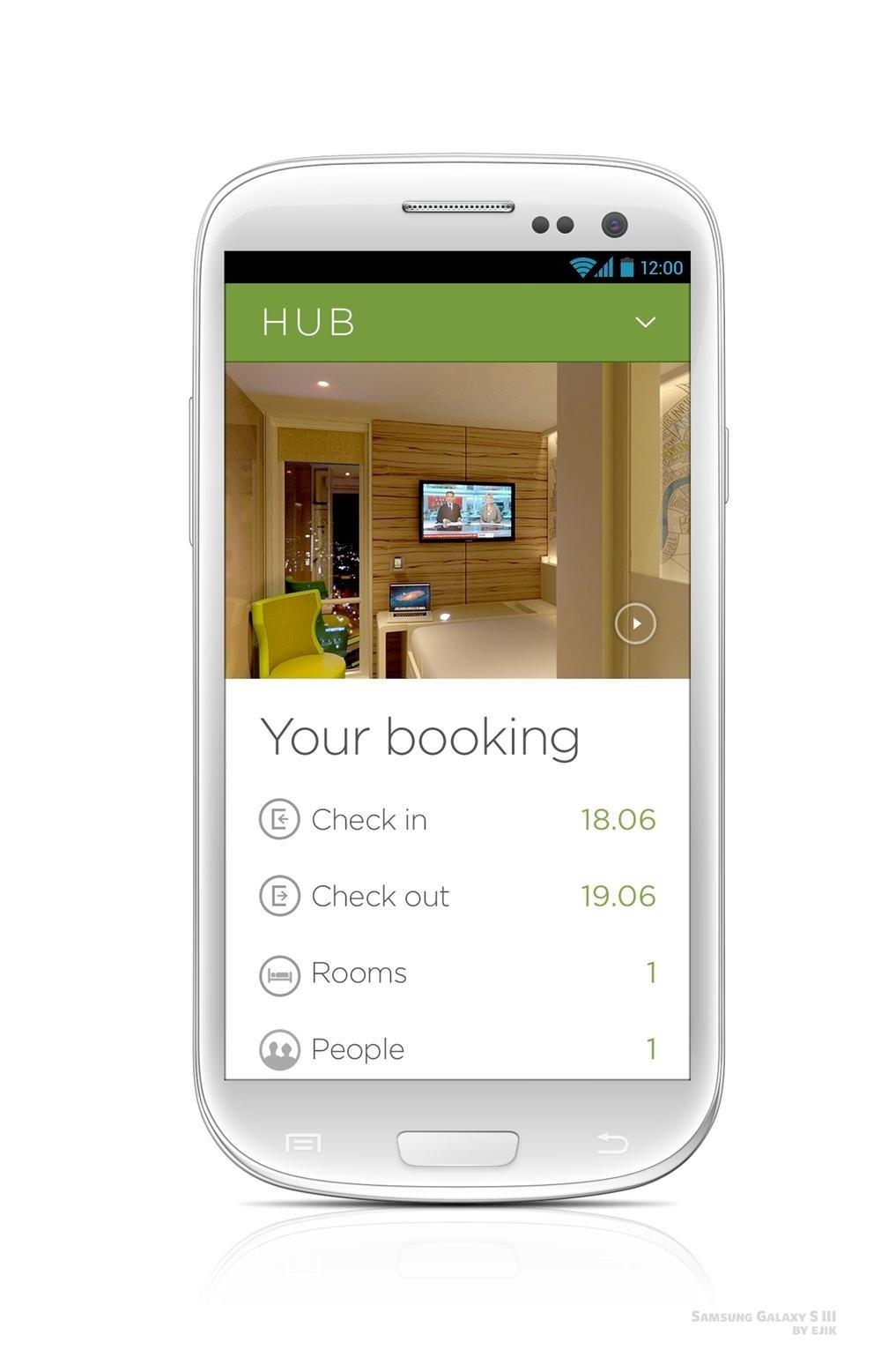 Habitaciones de hotel inteligentes