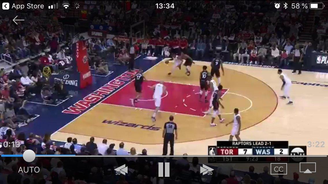 Highlights de un partido de la NBA