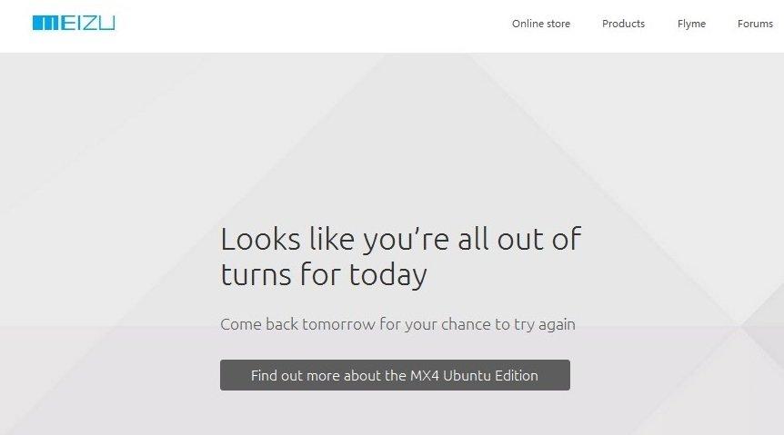 Hoy no podremos comprar el Meizu MX4 Ubuntu Edition