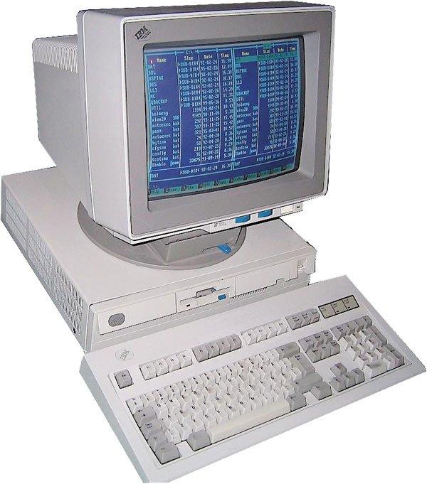 IBM PS/2 Model 55 SX