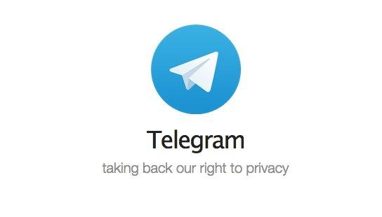 Icono del sistema de mensajería Telegram