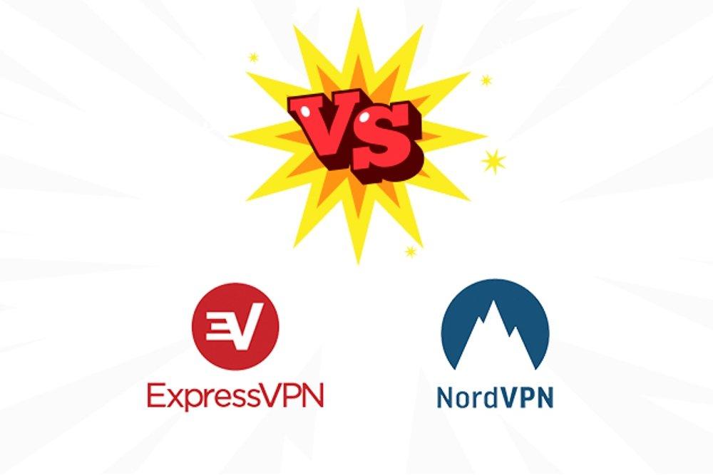 Imagen conceptual de la comparativa entre dos servicios VPN