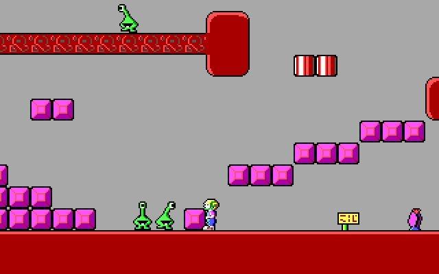 Imagen de Commander Keen, un antiguo juego de PC distribuido como shareware