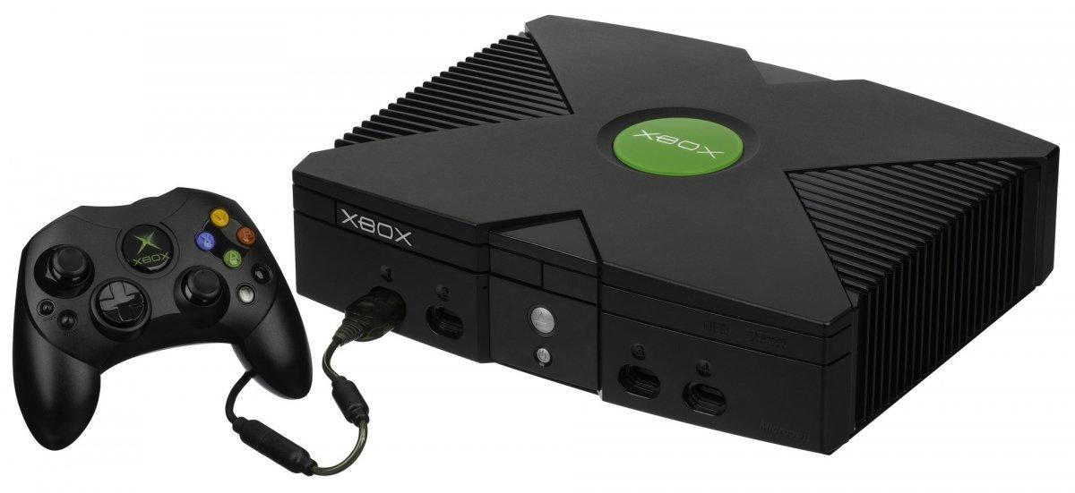 Imagen de la XBOX original