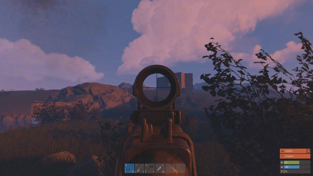 Imagen de una batalla en Rust