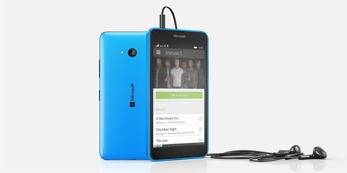 Imagen promocional del último Lumia