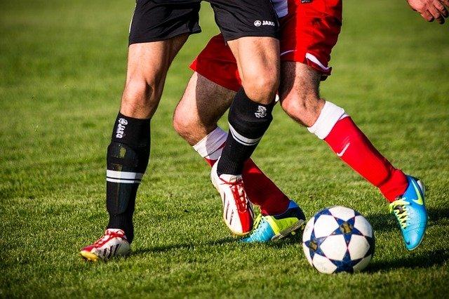 Imagen tomada durante un partido de fúbol