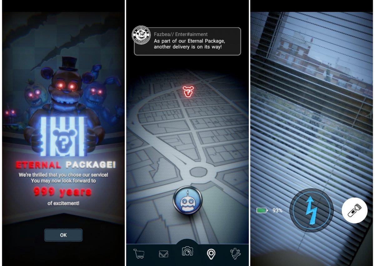 Imágenes del juego Five Nights at Freddy's AR