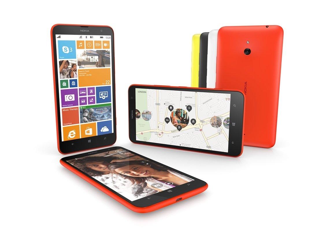 Imágenes del Nokia Lumia 1320