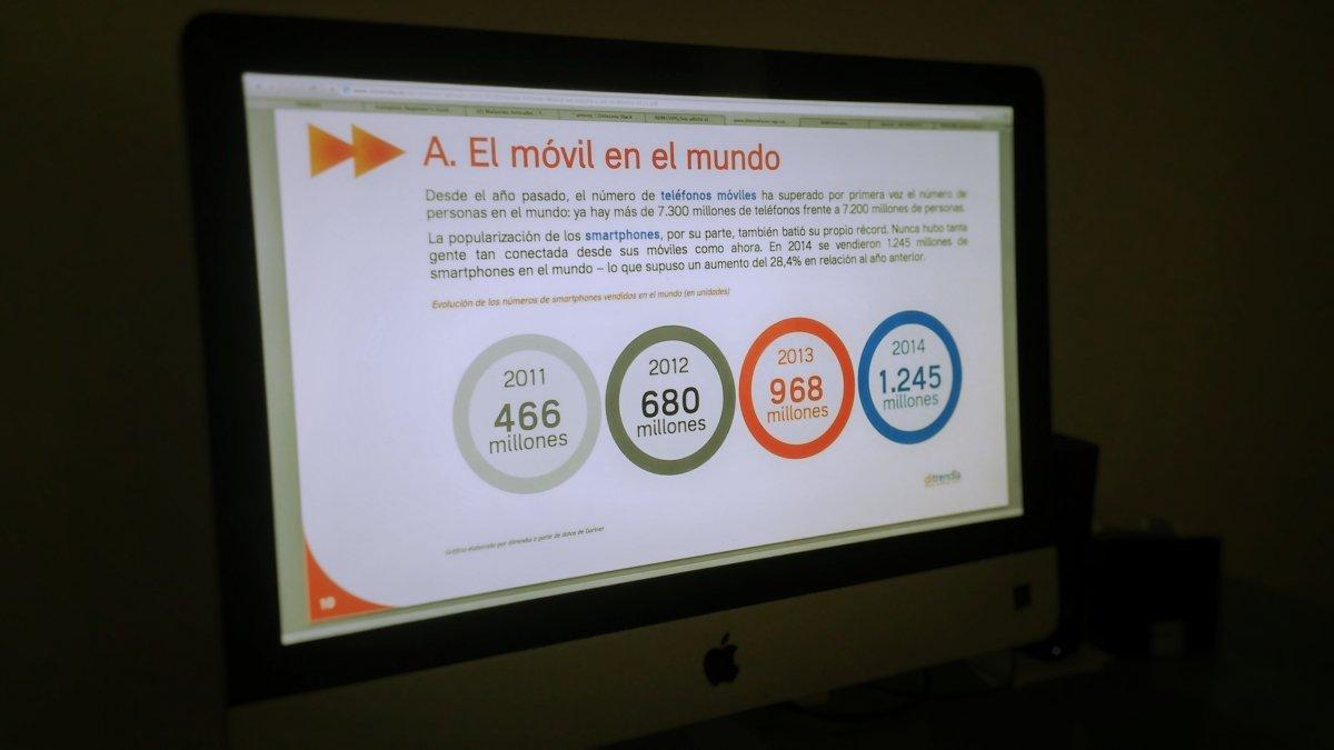 Informe Mobile en España y en el Mundo 2015 de Ditrendia