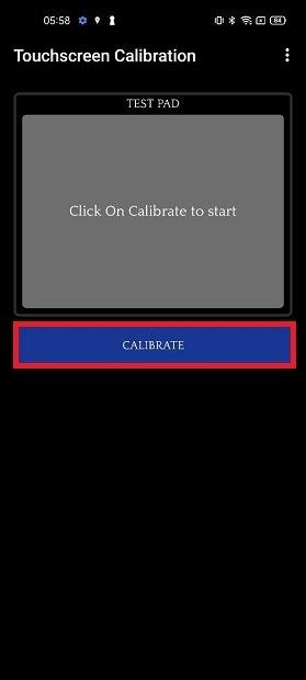 Iniciar calibración