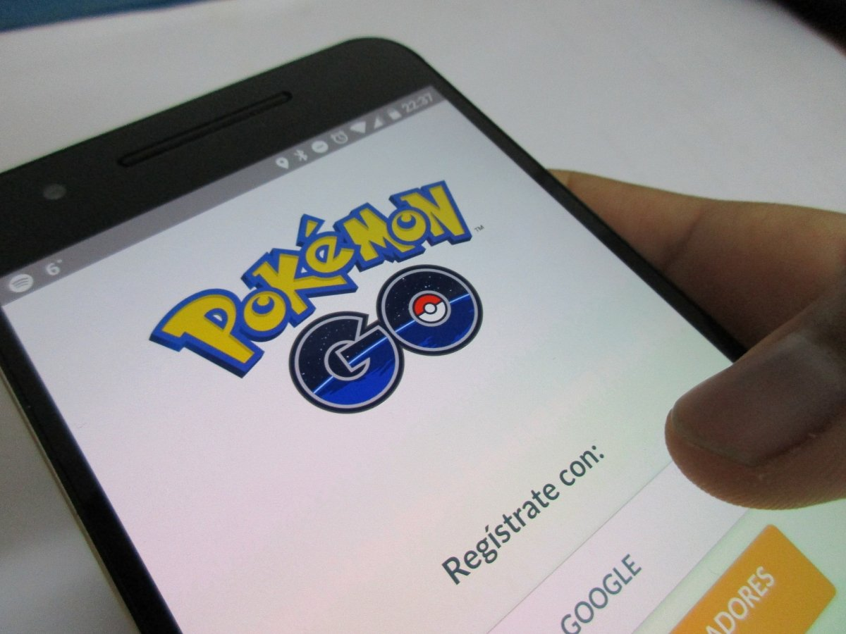 Inicio de Pokémon GO en Android