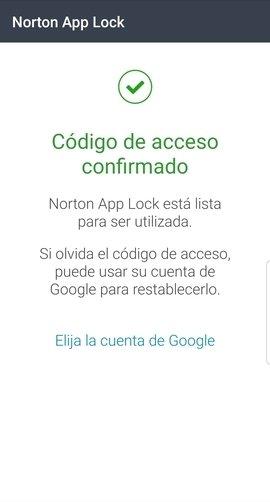 Inicio de sesión en Norton App Lock