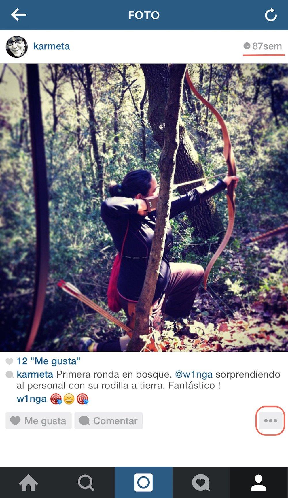 Instagram permite editar imágenes antiguas y recomienda usuarios - imagen 2