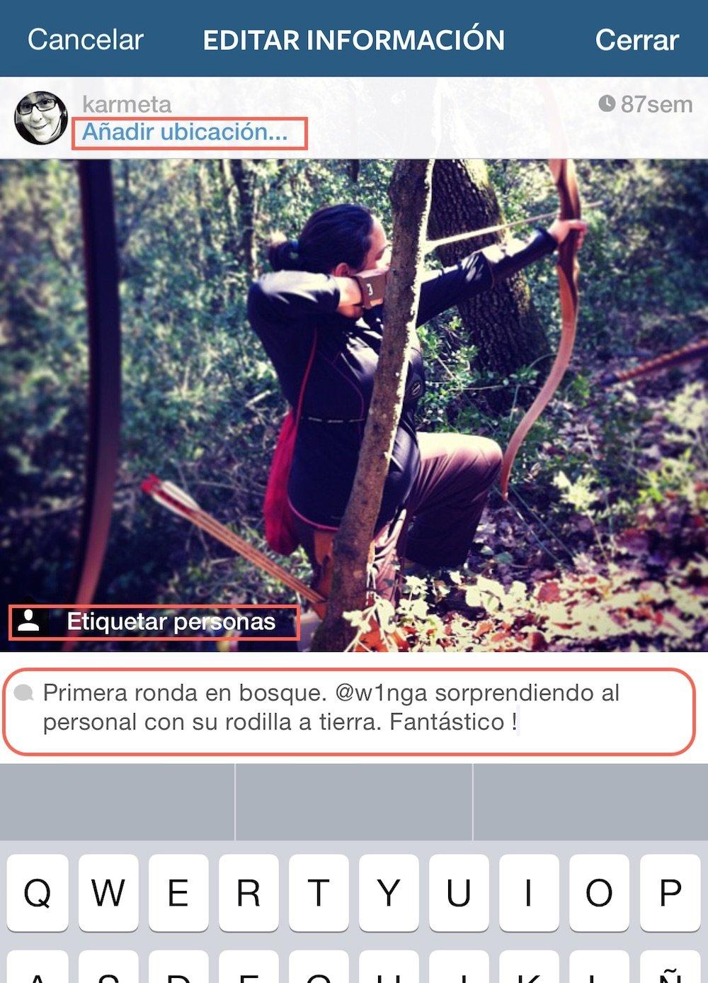 Instagram permite editar imágenes antiguas y recomienda usuarios - imagen 4