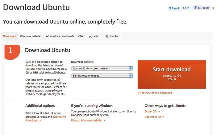 Instala Linux Ubuntu Desktop 1