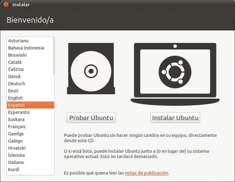 Instala Linux Ubuntu Desktop 2