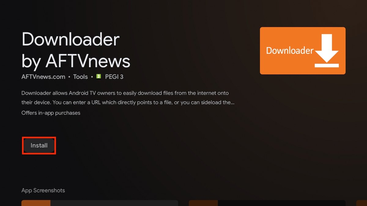 Instalar Downloader