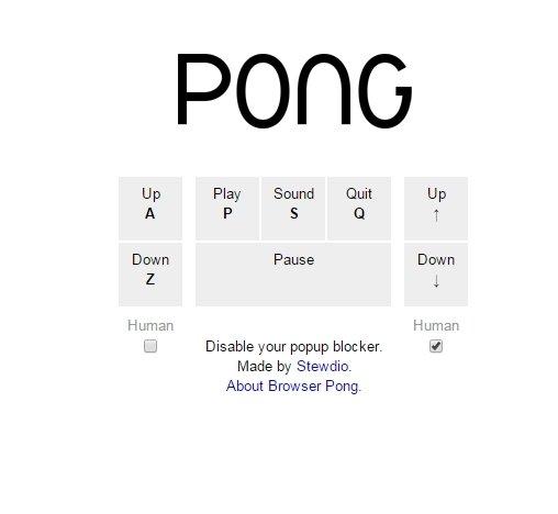 Instrucciones para jugar en Browser Pong