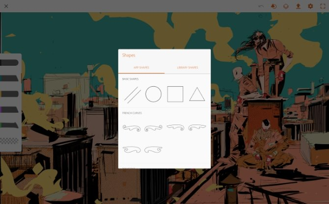 Interfaz de Adobe Illustrator